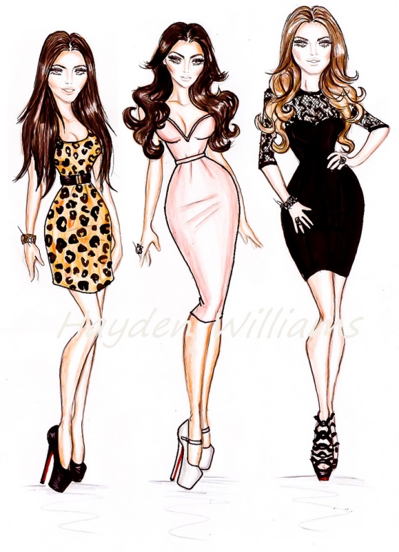 The Kardashians: Kourtney, Kim and Khloe